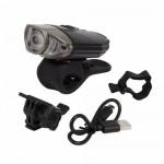 Eastpower - Briviga EBL-039 USB Şarjlı 380 Lümen Bisiklet Ön Far